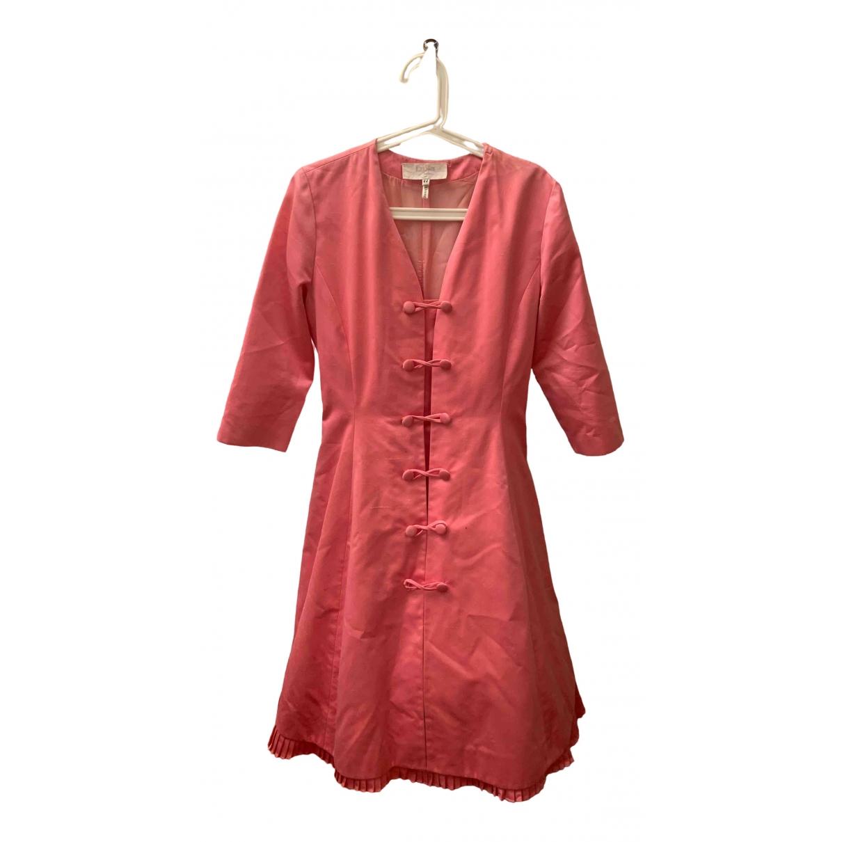 Luisa Beccaria \N Kleid in  Rosa Baumwolle