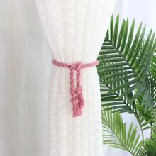 1pair Braided Rope Curtain Tie Back