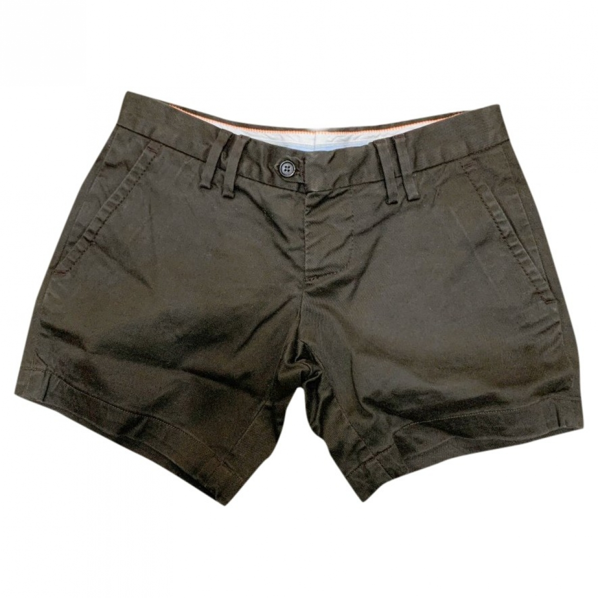 Dsquared2 \N Brown Cotton - elasthane Shorts for Women 40 IT
