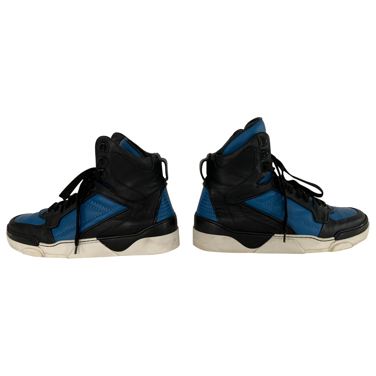 Givenchy \N Blue Leather Trainers for Men 43 EU