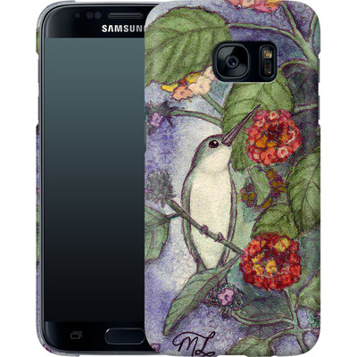Samsung Galaxy S7 Smartphone Huelle - Mary Layton - Flying birds von TATE and CO