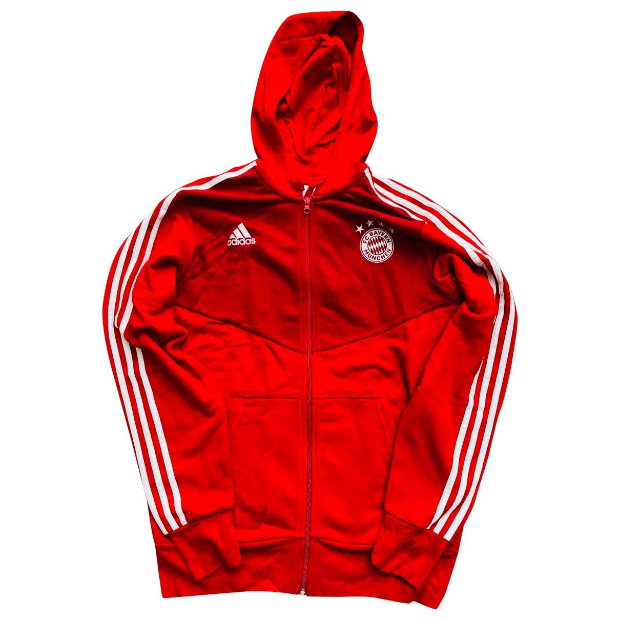 Adidas \N Pullover.Westen.Sweatshirts  in  Rot Baumwolle