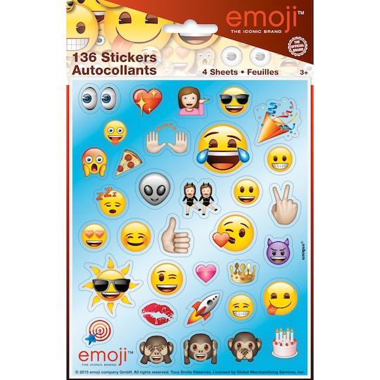 4 Pack of Emoji Sticker Sheets, 4Ct | Michaels®
