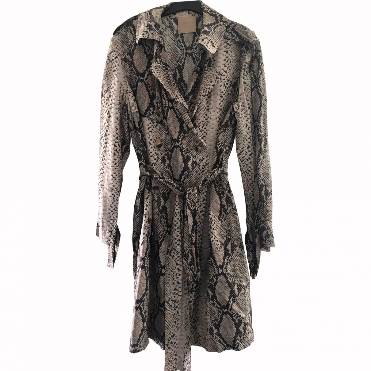 Lanvin \N Silk coat for Women 40 FR