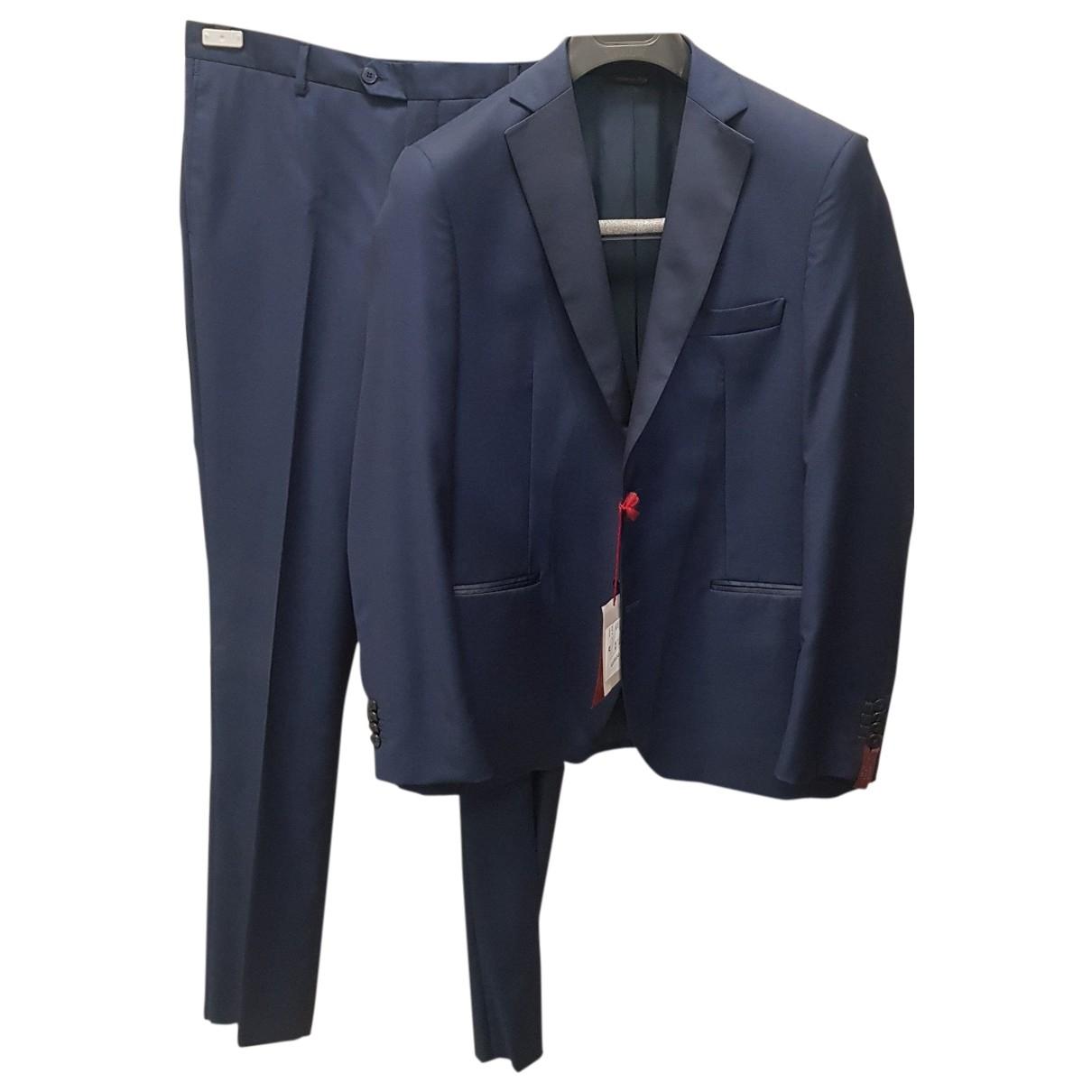 Cerruti \N Navy Wool Suits for Men 52 IT