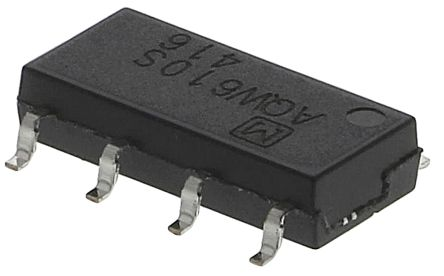 Panasonic 0.1 A SPDT Solid State Relay, PCB Mount, MOSFET, 350 V Maximum Load