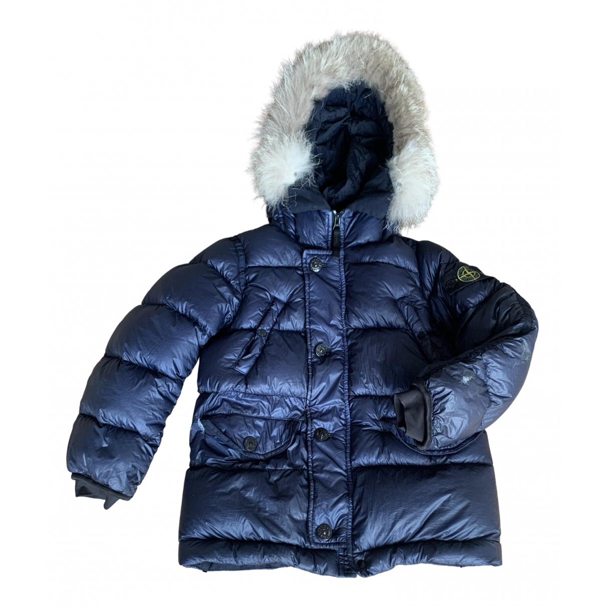 Stone Island N Blue Fur jacket & coat for Kids 6 years - up to 114cm FR