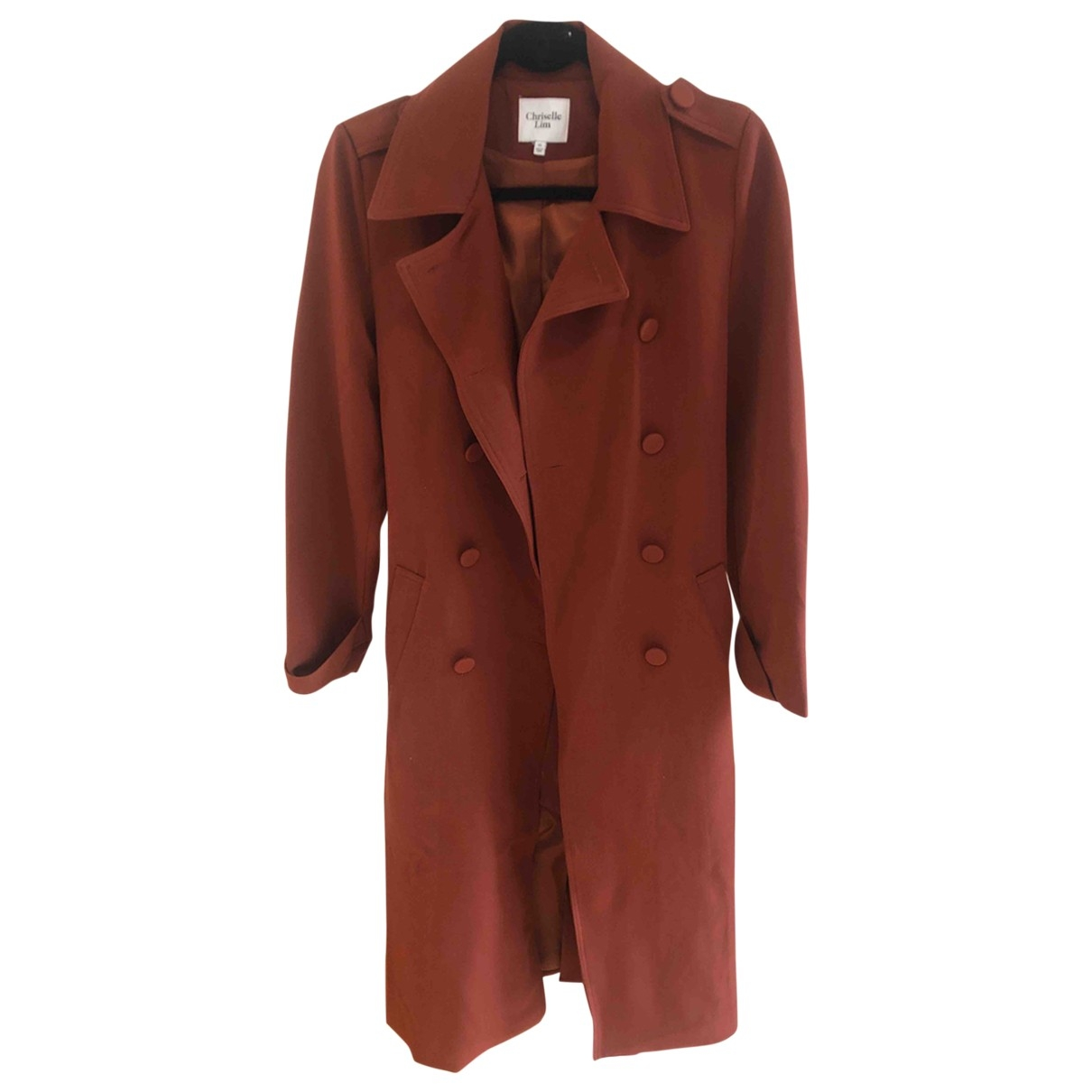 Non Signé / Unsigned \N Red coat for Women XS International