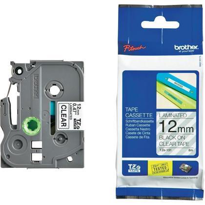 Brother TZe-131 Original Label Tape, 12mm (0.47