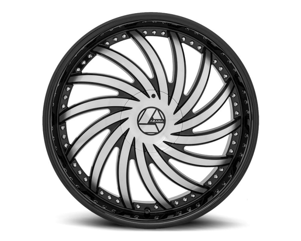 Azara 508 Wheel 26x9.5 5x115 5x120 32mm Gloss Black Machined