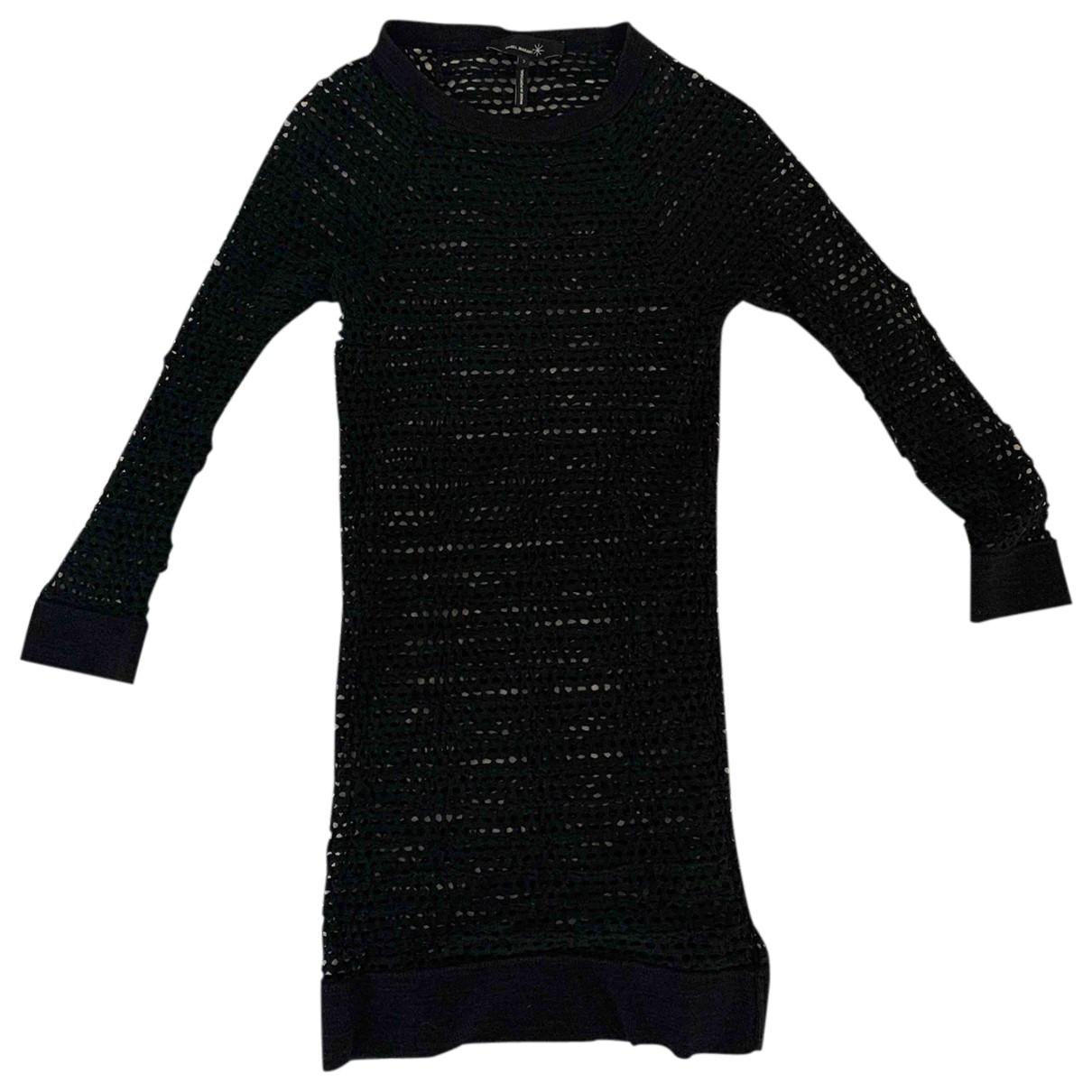 Isabel Marant \N Black Cotton - elasthane dress for Women 2 0-5