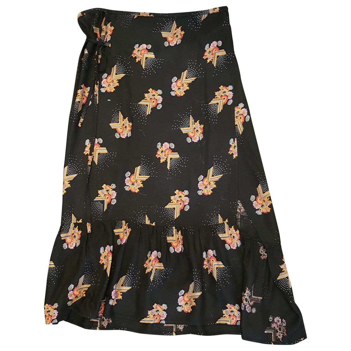 Isabel Marant \N Black Cotton skirt for Women 2 0-5
