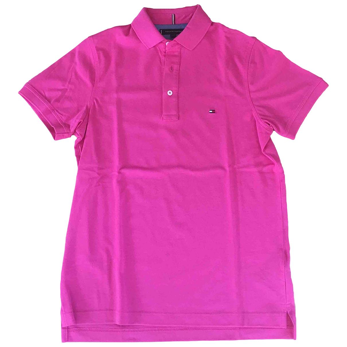 Tommy Hilfiger \N Poloshirts in  Rosa Baumwolle