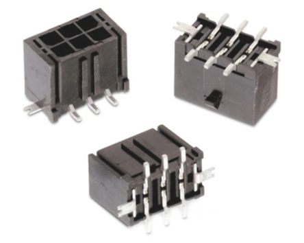 Wurth Elektronik , WR-MPC3, 14 Way, 2 Row, Straight PCB Header (5)