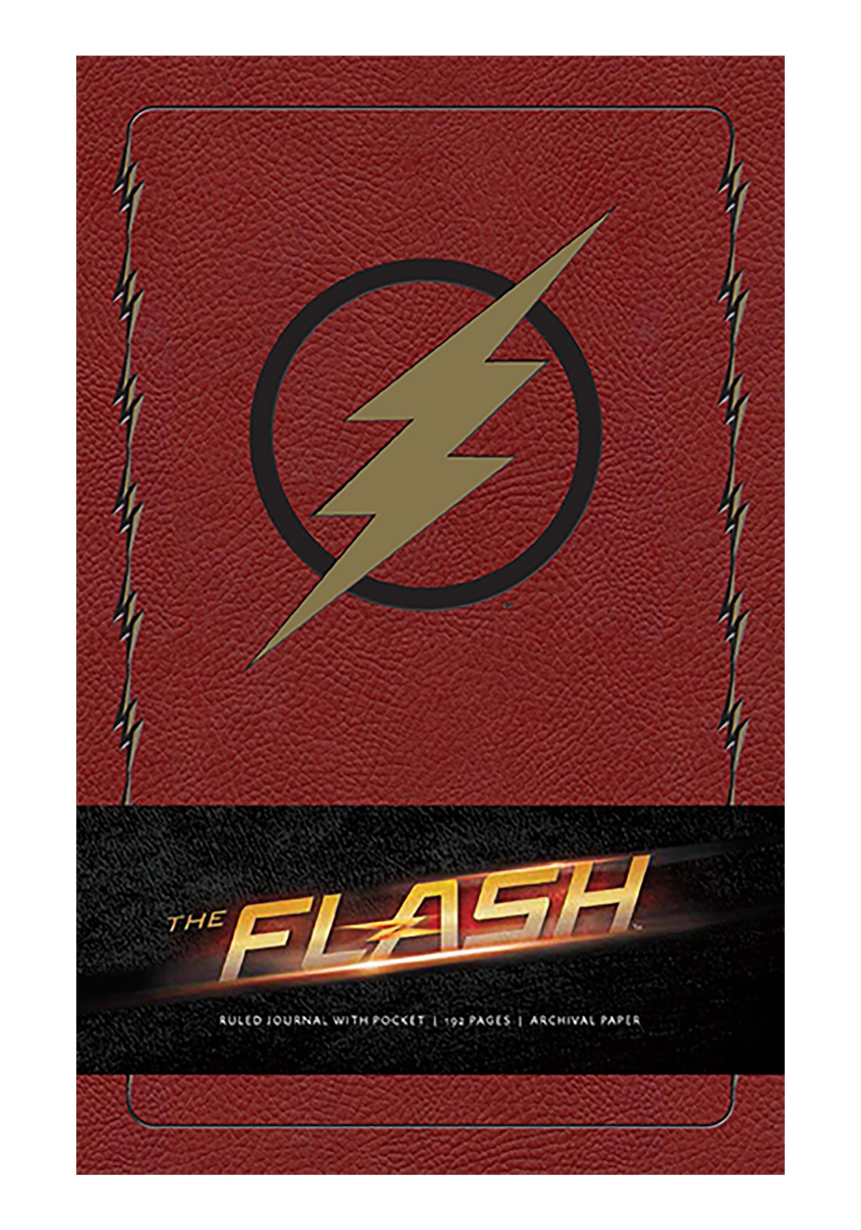Hardcover Ruled Journal The Flash