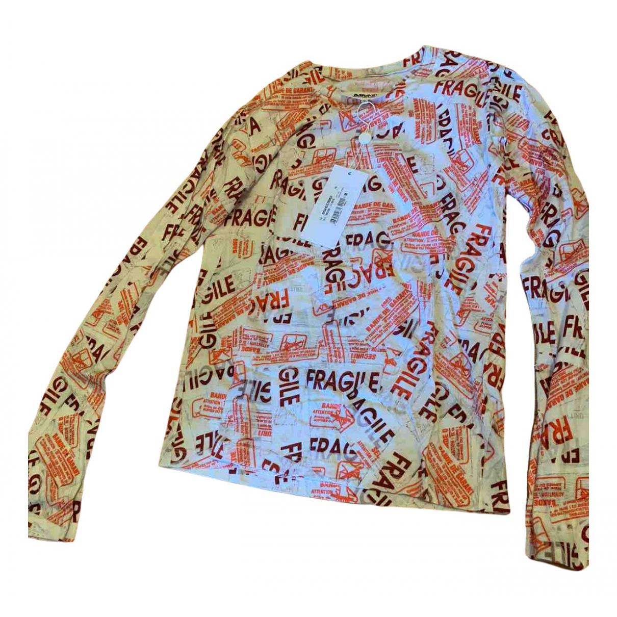 Maison Martin Margiela - Top   pour femme en coton - multicolore