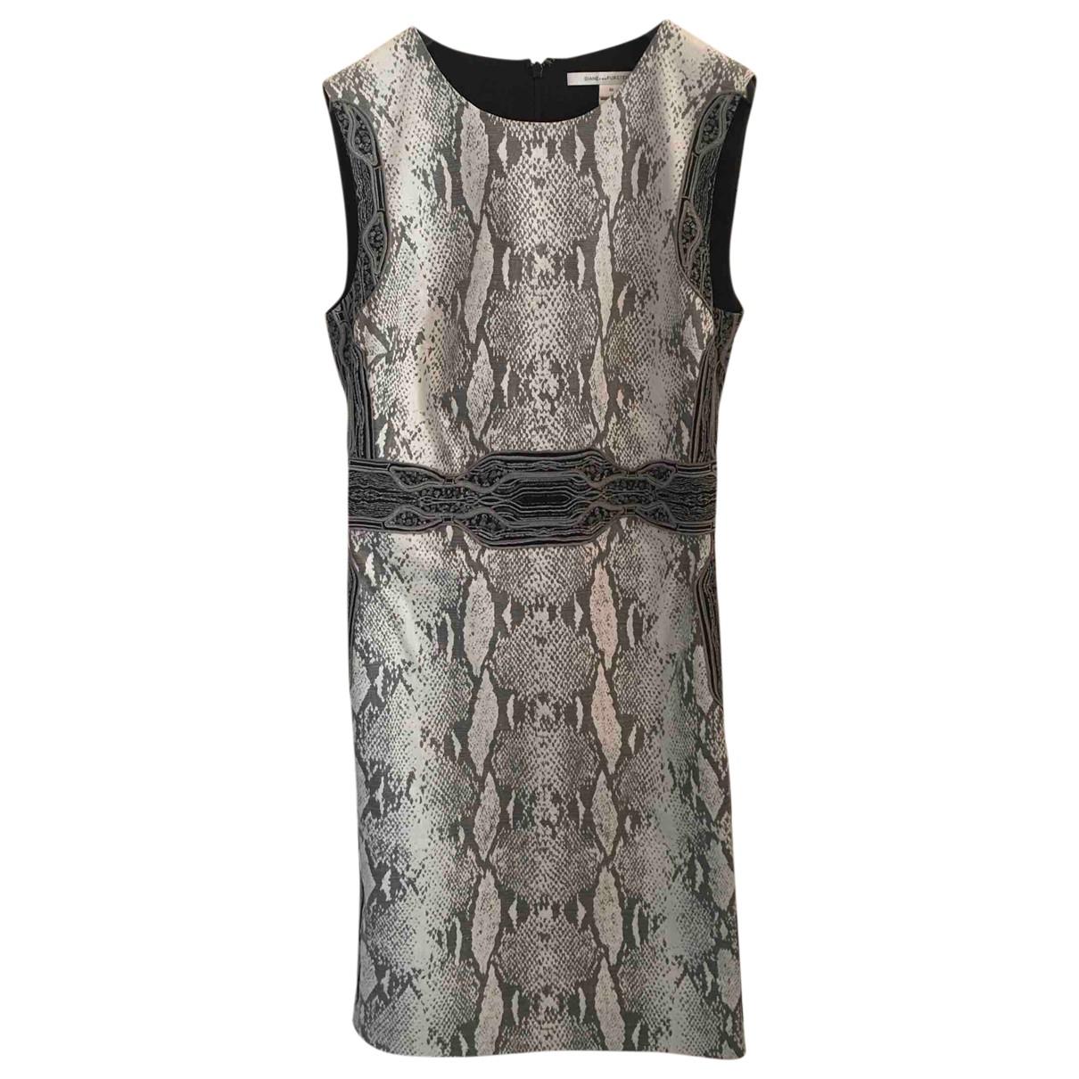 Diane Von Furstenberg \N Black Cotton dress for Women 10 US