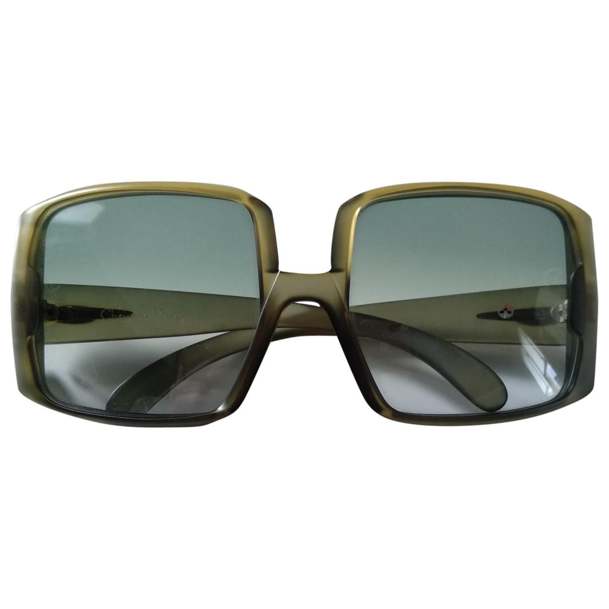Dior \N Sonnenbrillen in  Gruen Kunststoff