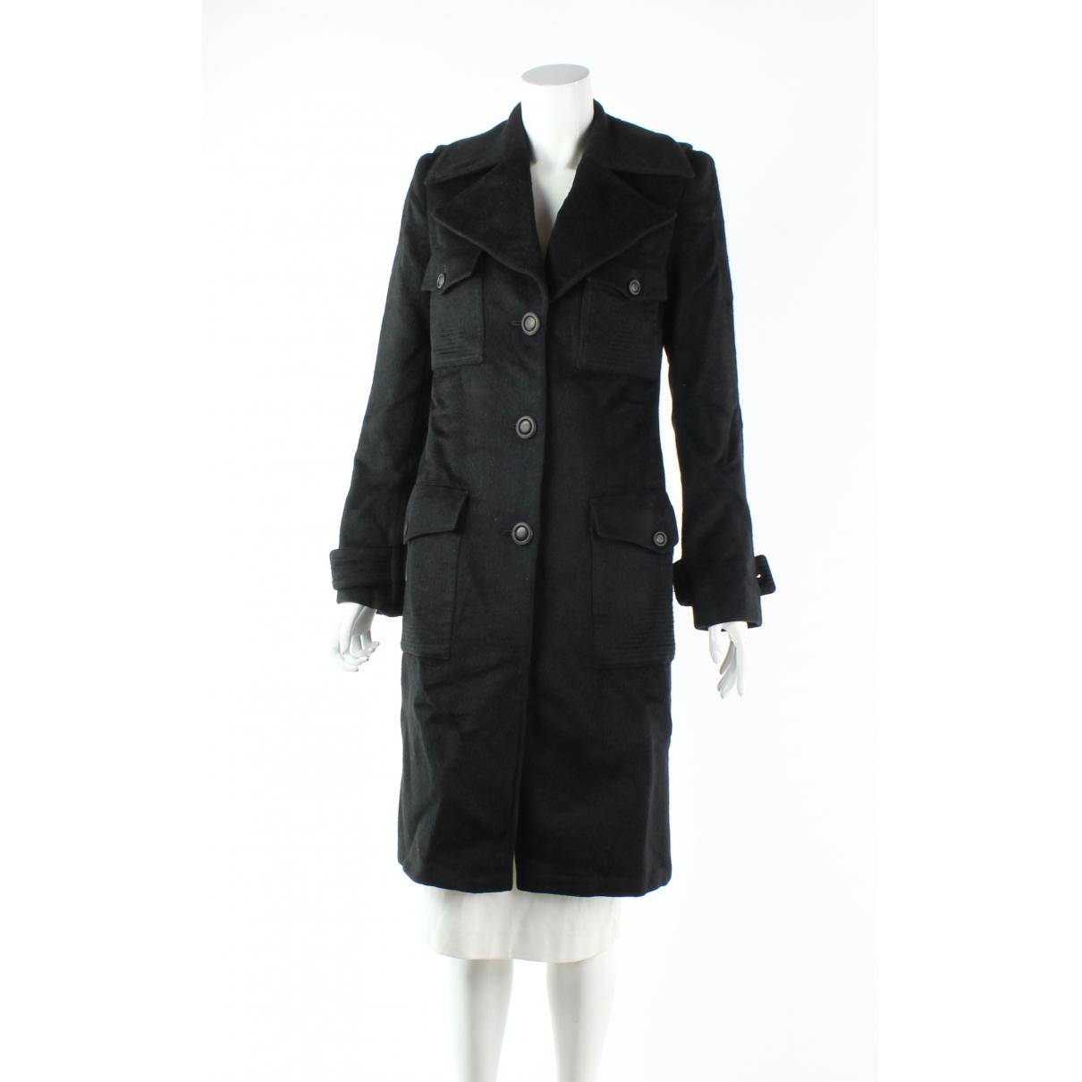 Andrew Gn N Black Wool coat for Women 38 FR