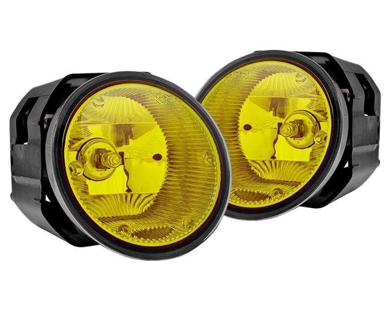 Winjet WJ30-0097-12 Yellow OEM Style Fog Lights Includes Wiring Kit Nissan Maxima 00-01