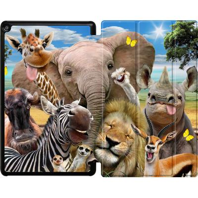 Amazon Fire HD 10 (2017) Tablet Smart Case - Africa Selfie von Howard Robinson