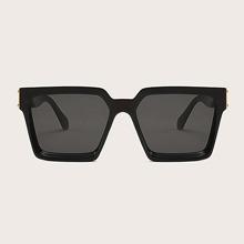 Gafas de sol de hombres de marco cuadrado