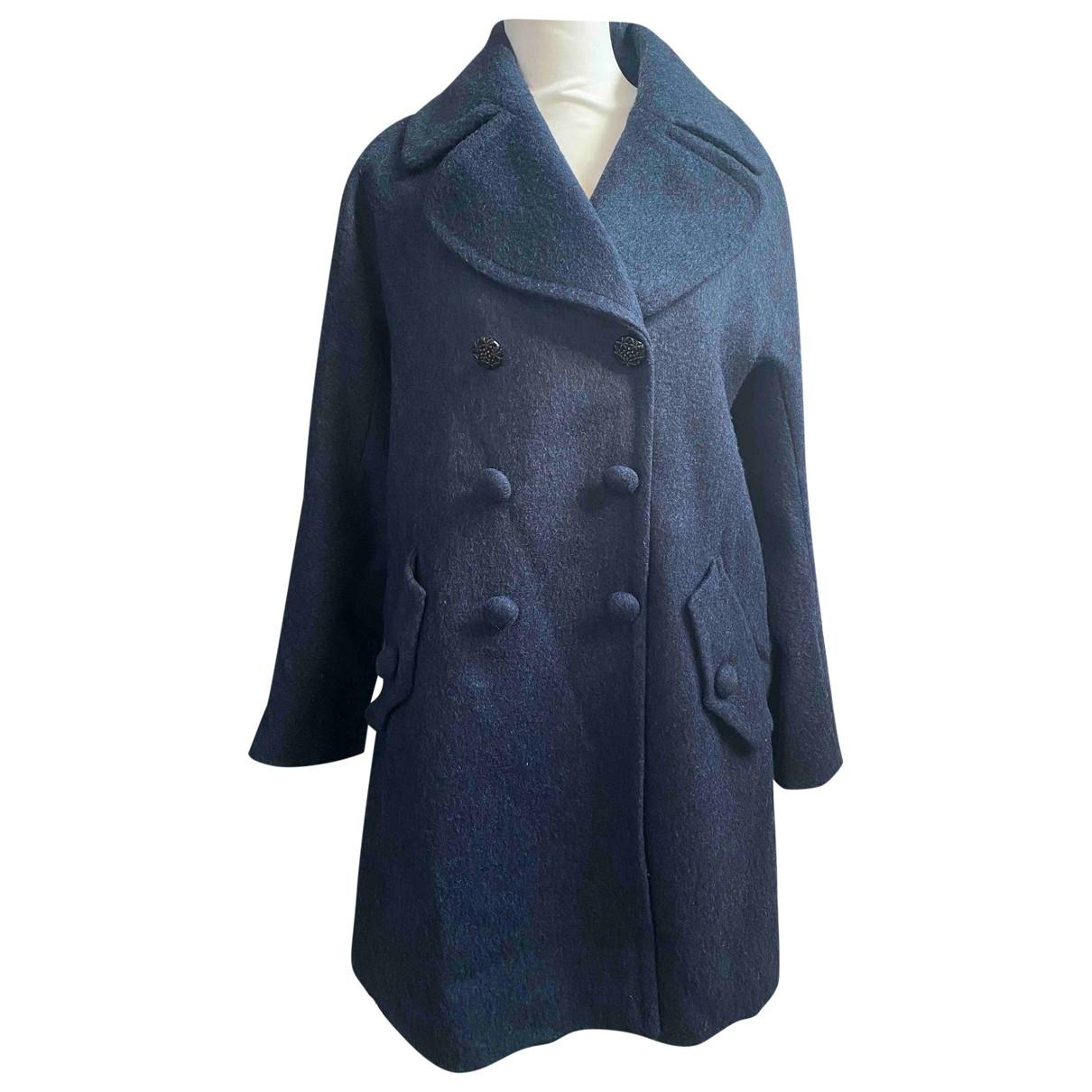 Max & Co - Manteau   pour femme en laine - bleu