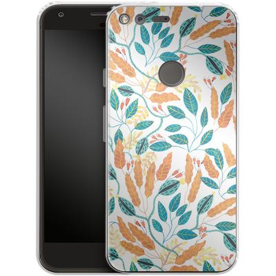 Google Pixel Silikon Handyhuelle - Wild Leaves von Iisa Monttinen