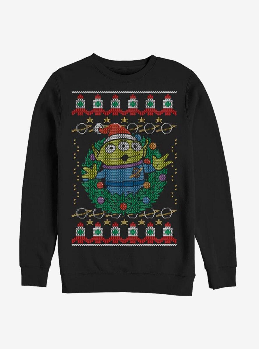 Disney Pixar Toy Story Greetings Christmas Pattern Sweatshirt