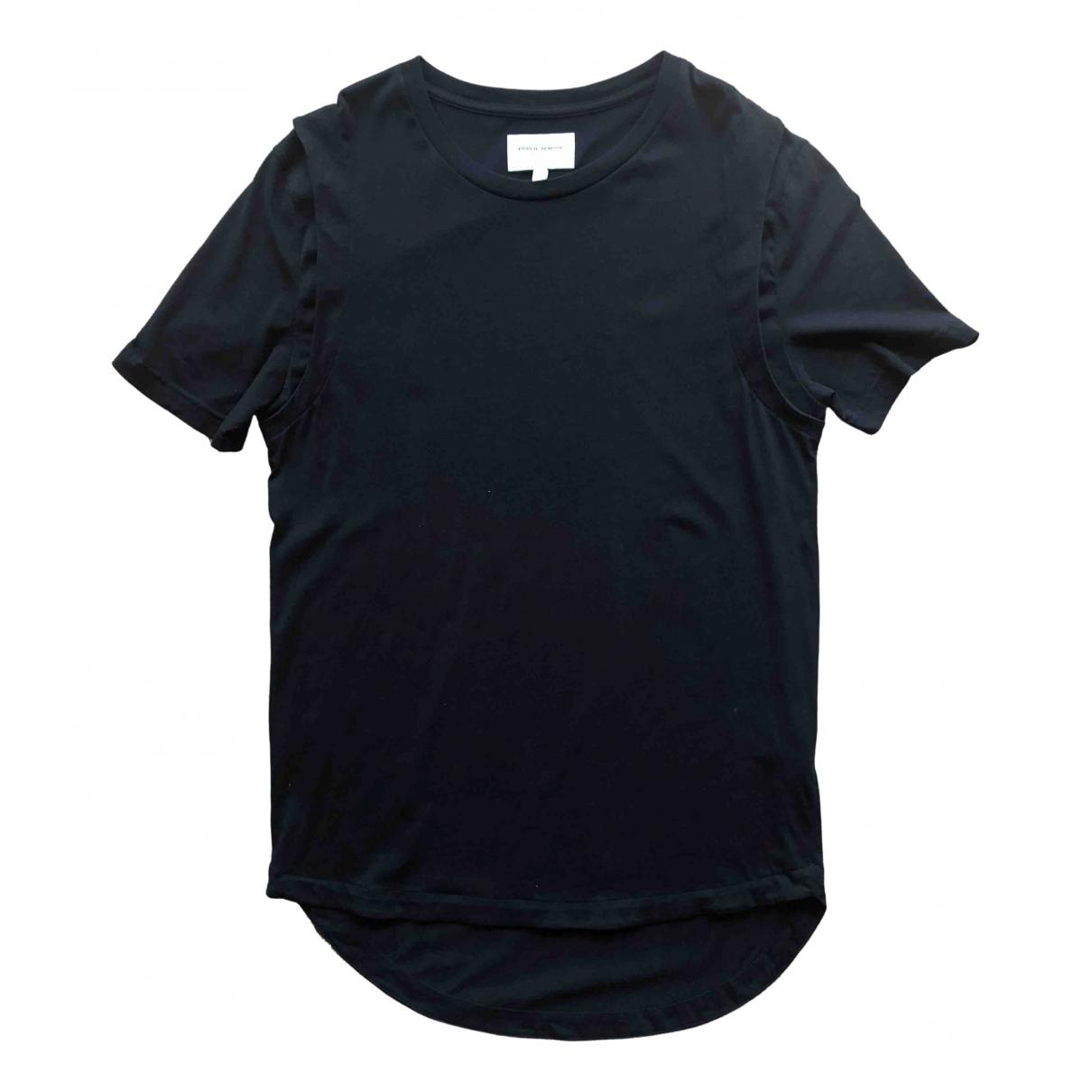Public School \N Black Cotton T-shirts for Men L International