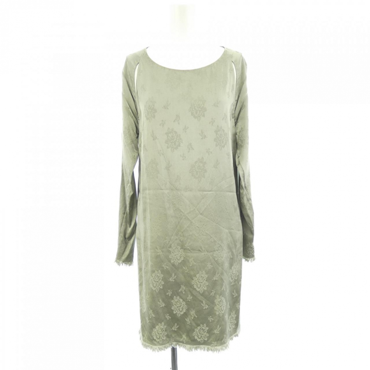 3.1 Phillip Lim \N Kleid in  Gruen Seide