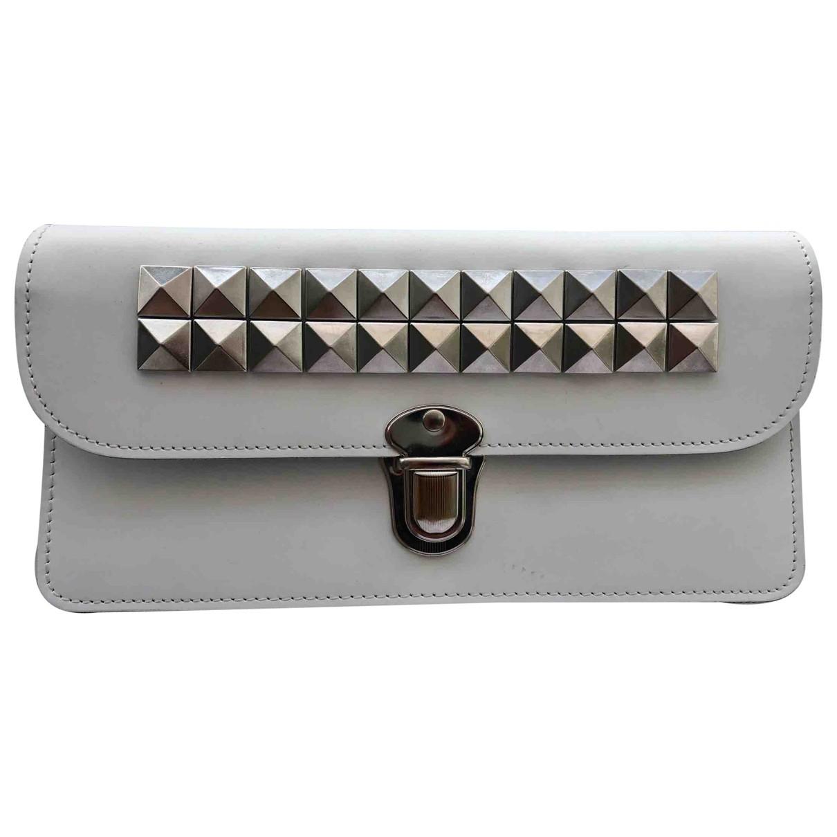 Comme Des Garcons \N White Leather Purses, wallet & cases for Women \N