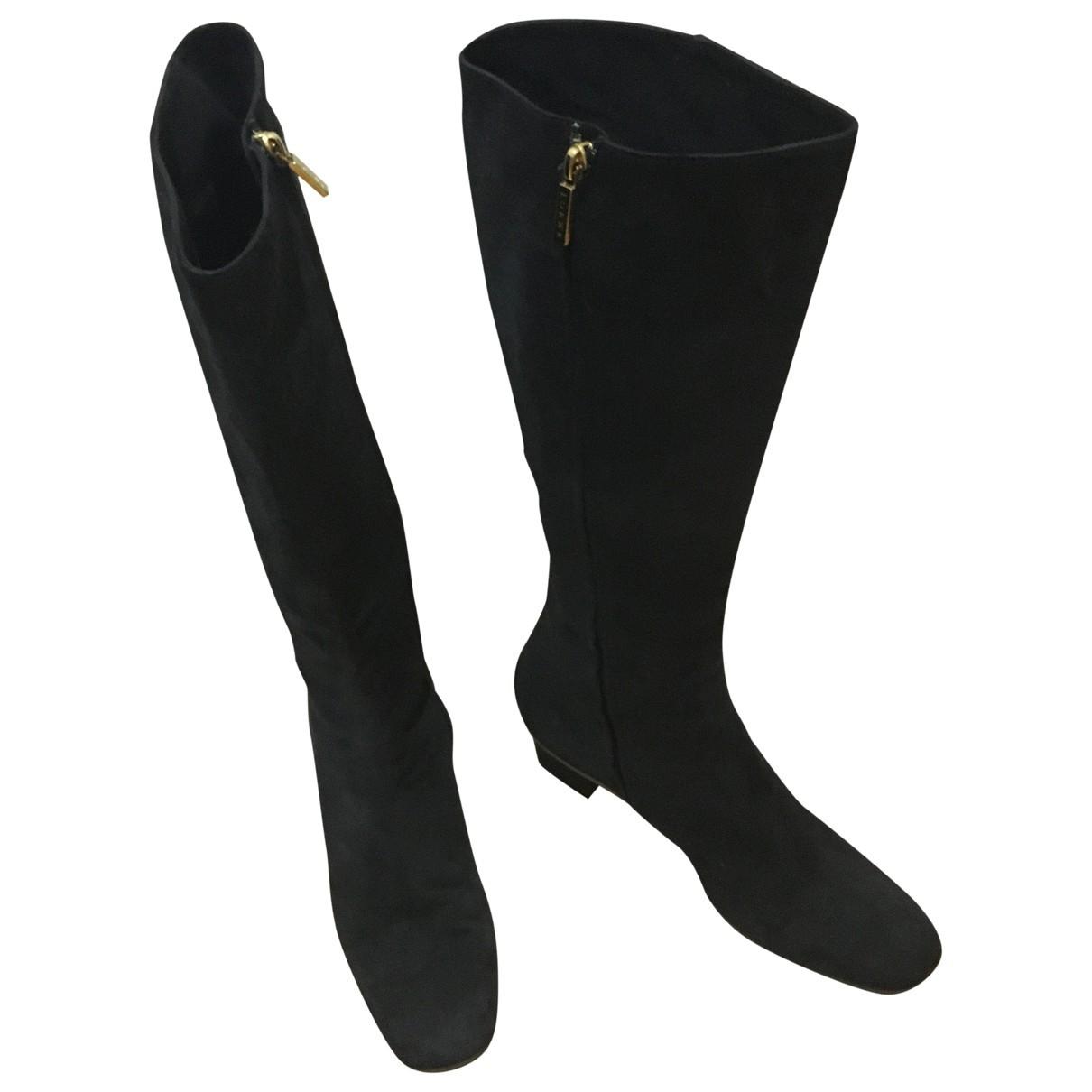 Loewe \N Suede Boots for Women 38 EU