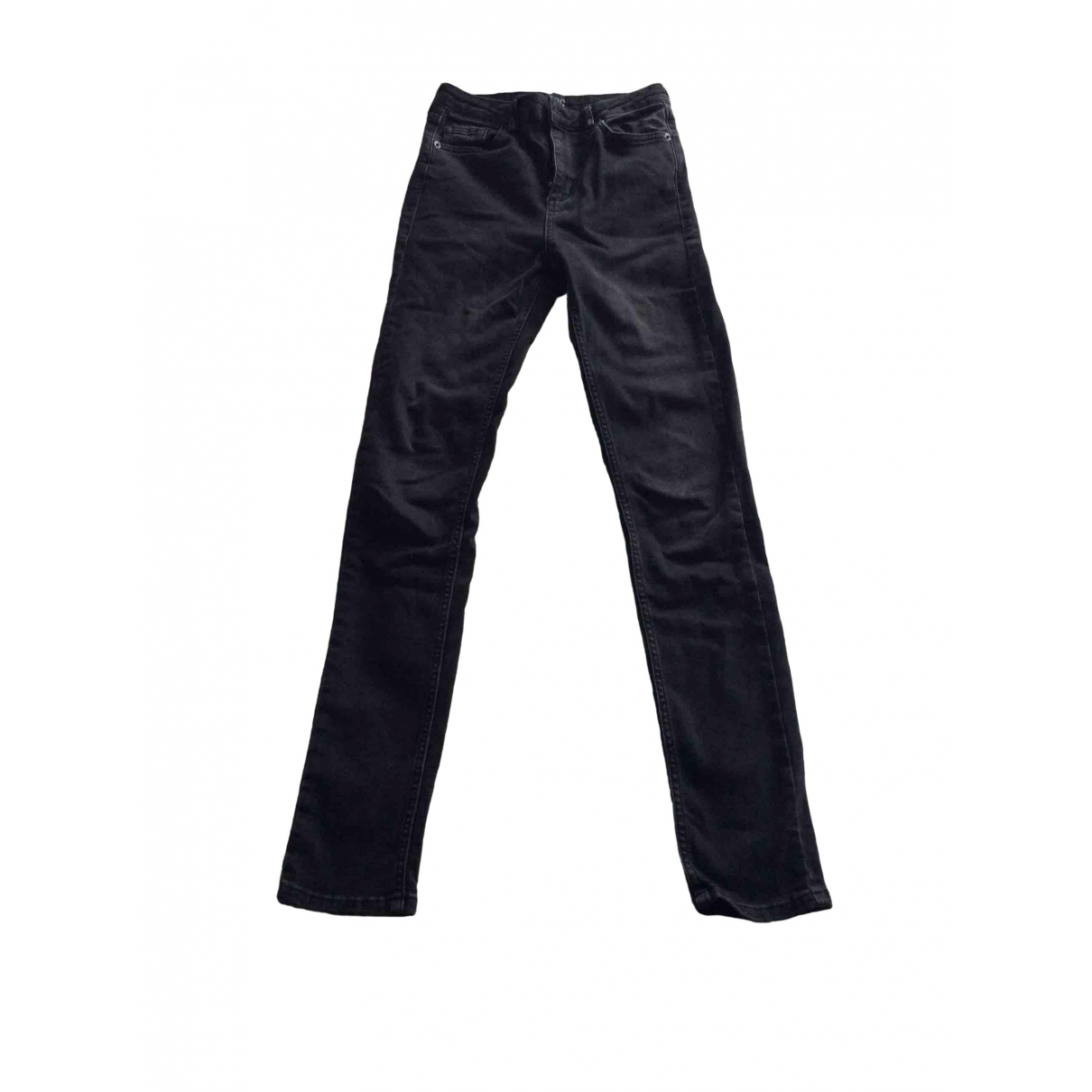 Urban Outfitters \N Black Cotton Jeans for Women 36 FR
