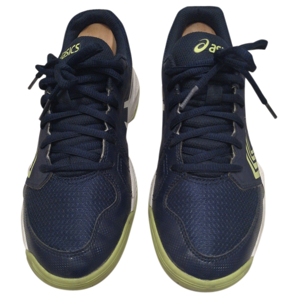 Asics \N Sneakers in  Blau Polyester