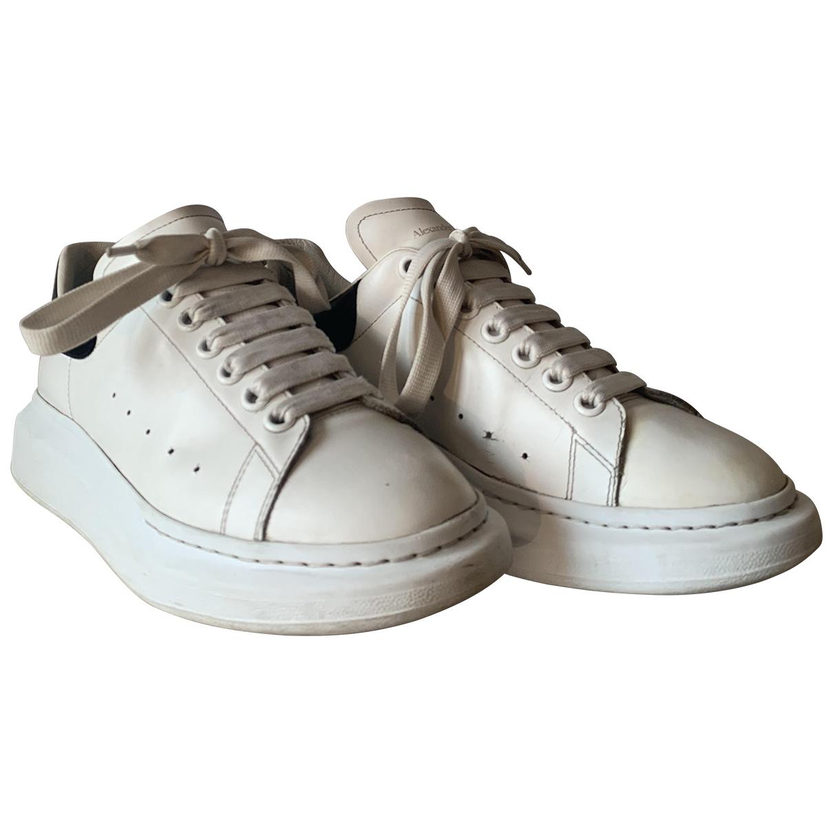 Alexander Mcqueen - Baskets Oversize pour homme en cuir - blanc