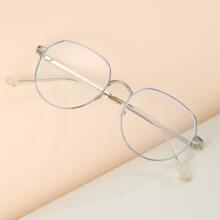 Brille mit Metall Rahmen