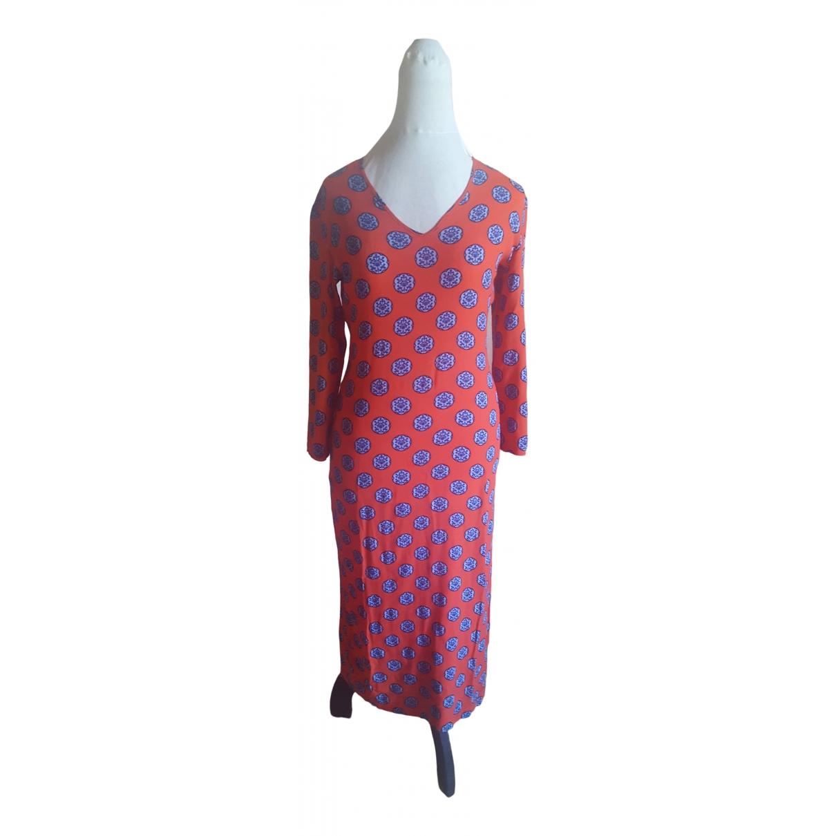 Versus \N Kleid in  Orange Polyester