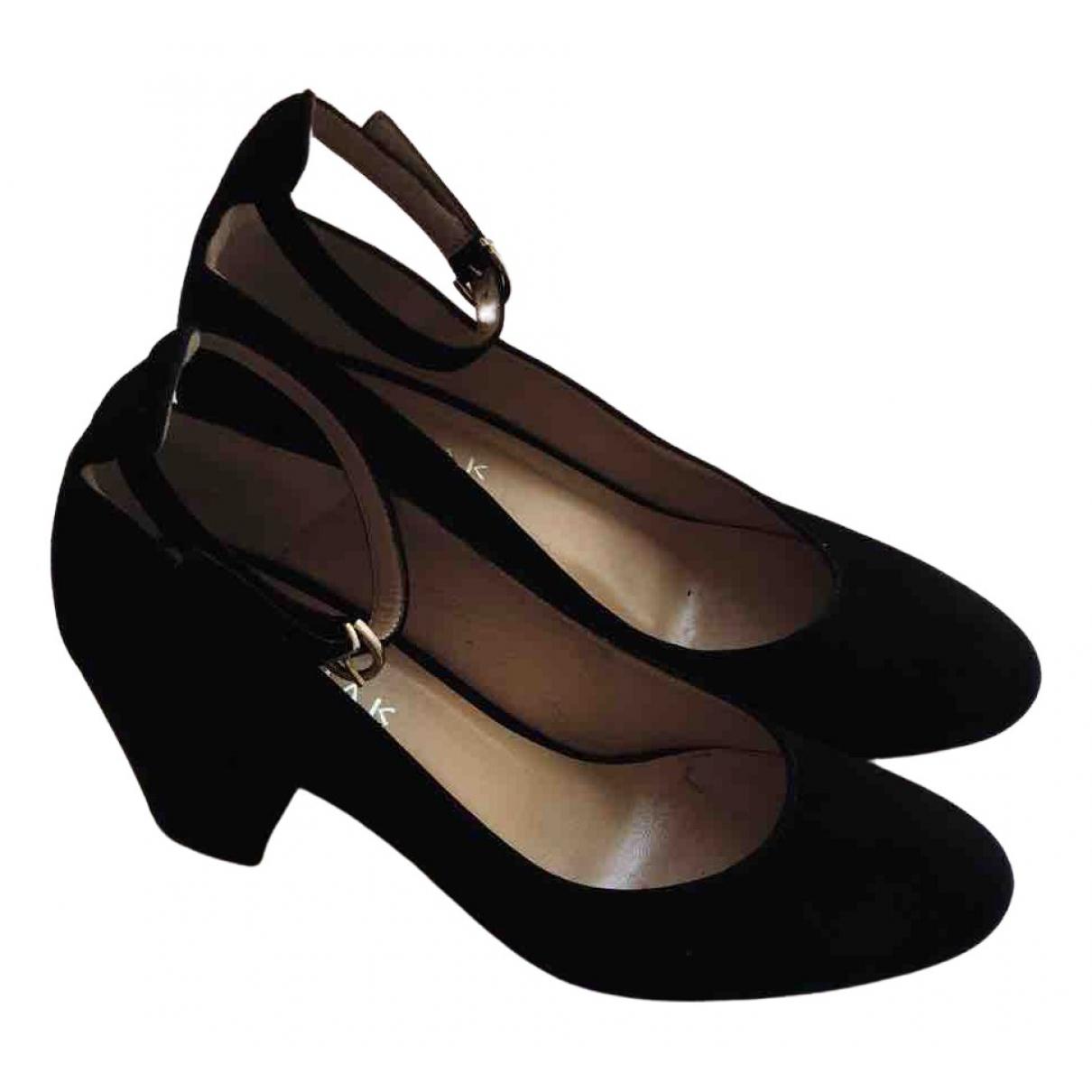Jonak - Escarpins   pour femme en velours - noir