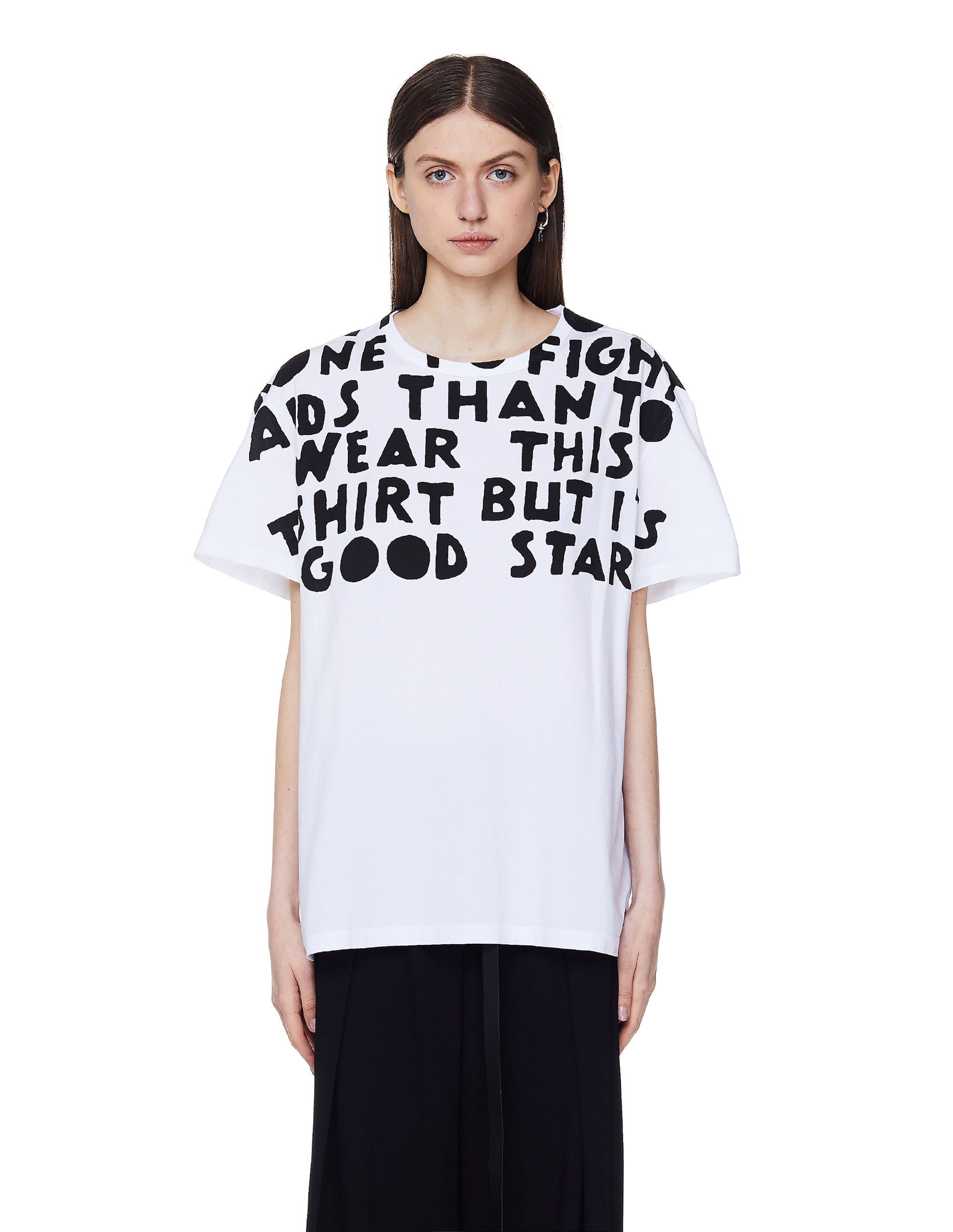 Maison Margiela White Cotton T-Shirt