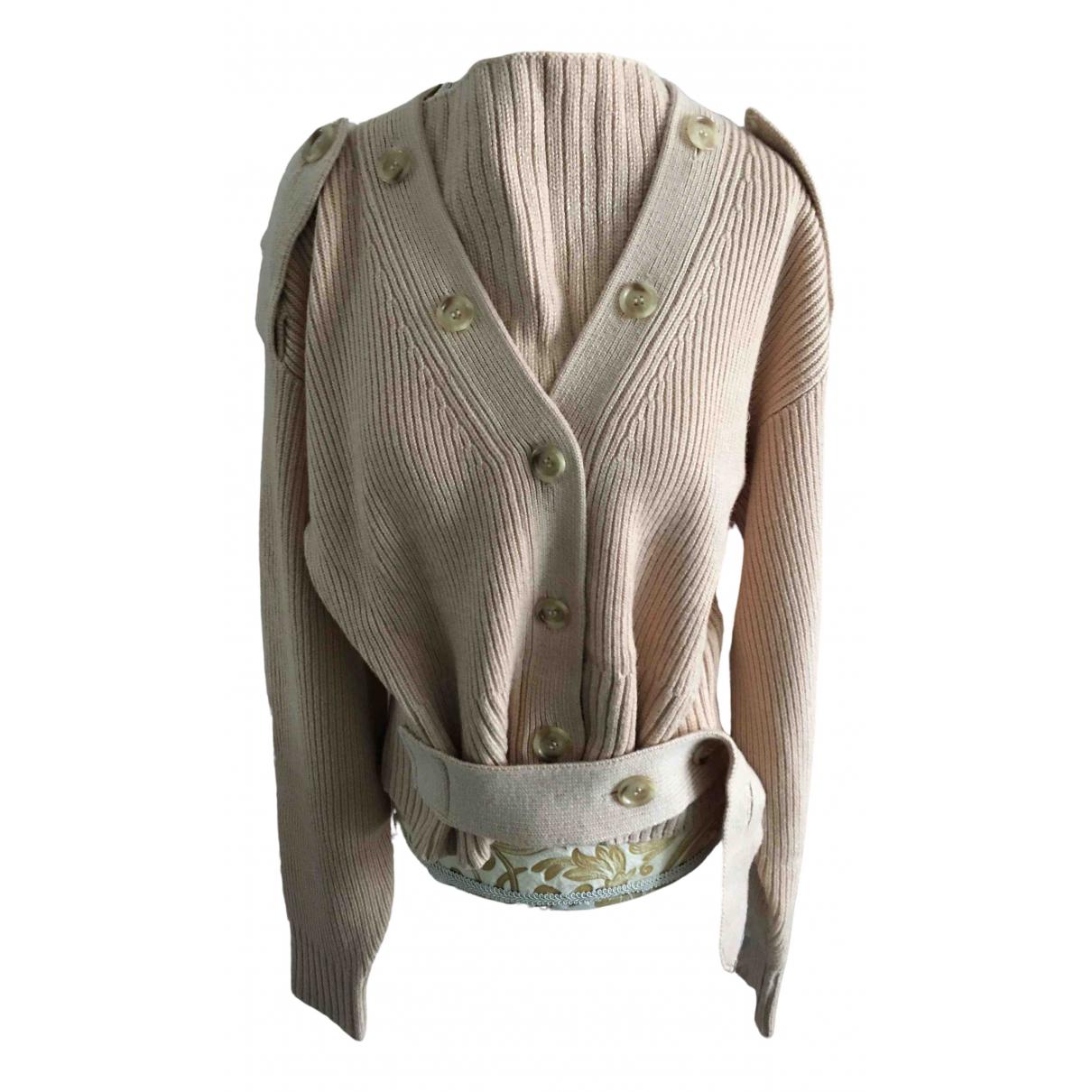 H&m Studio - Pull   pour femme en laine - beige
