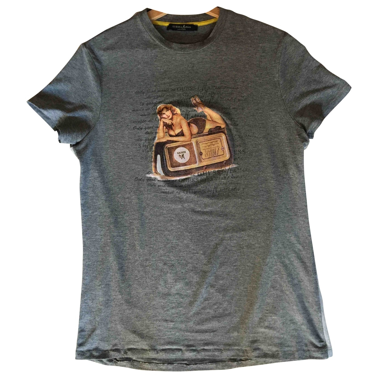 Guess \N Grey T-shirts for Men L International