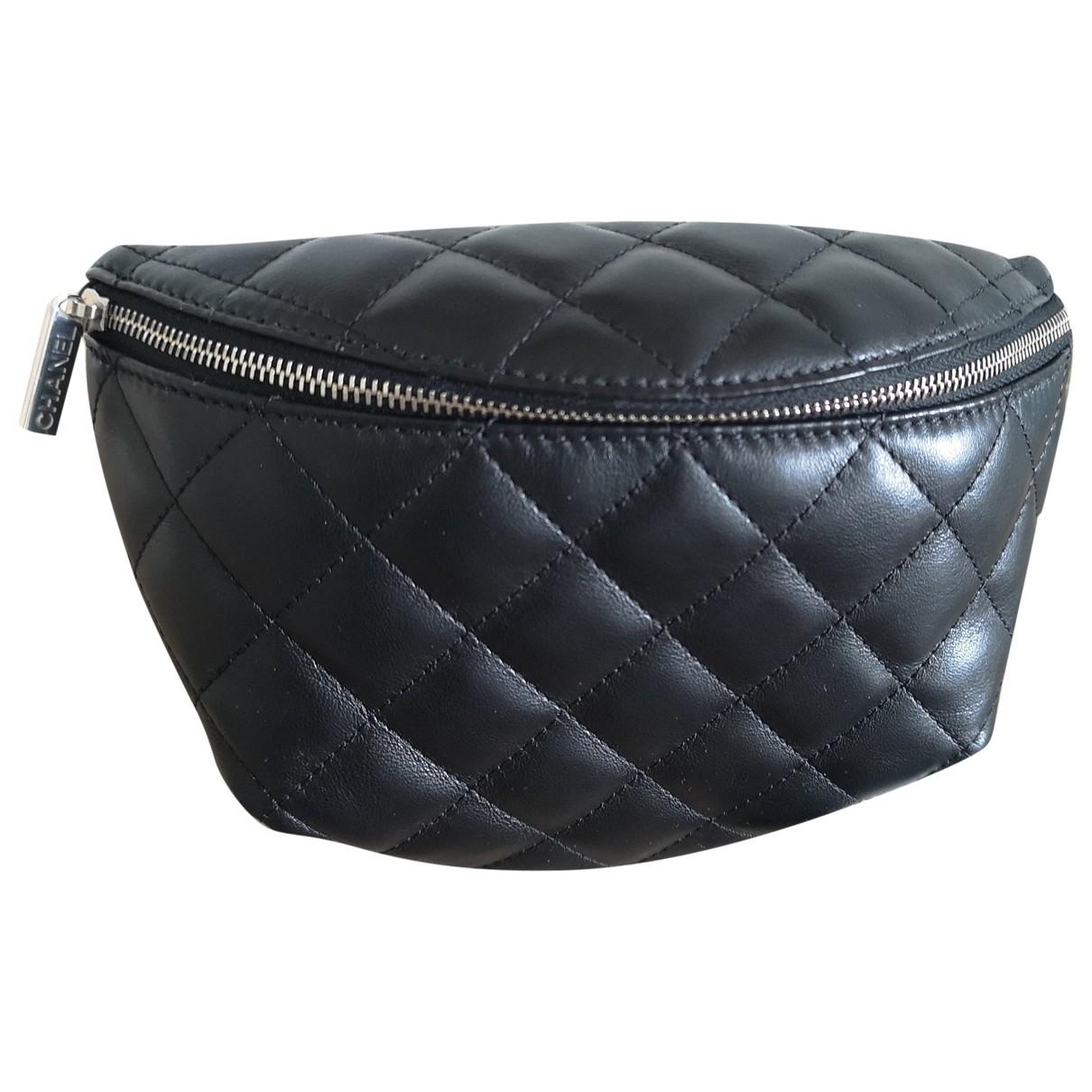 Chanel N Black Leather Clutch bag for Women N