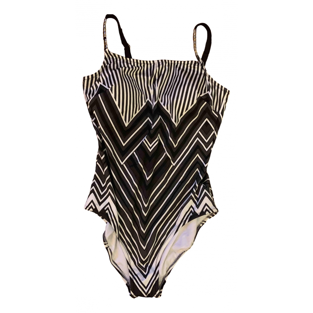 Zeki \N Black Lycra Swimwear for Women 38 FR