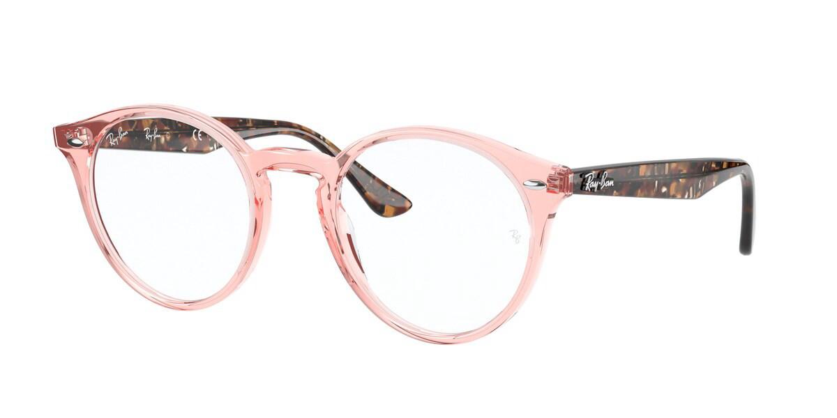 Ray-Ban RX2180V 8081 Men's Glasses Pink Size 47 - HSA/FSA Insurance - Blue Light Block Available