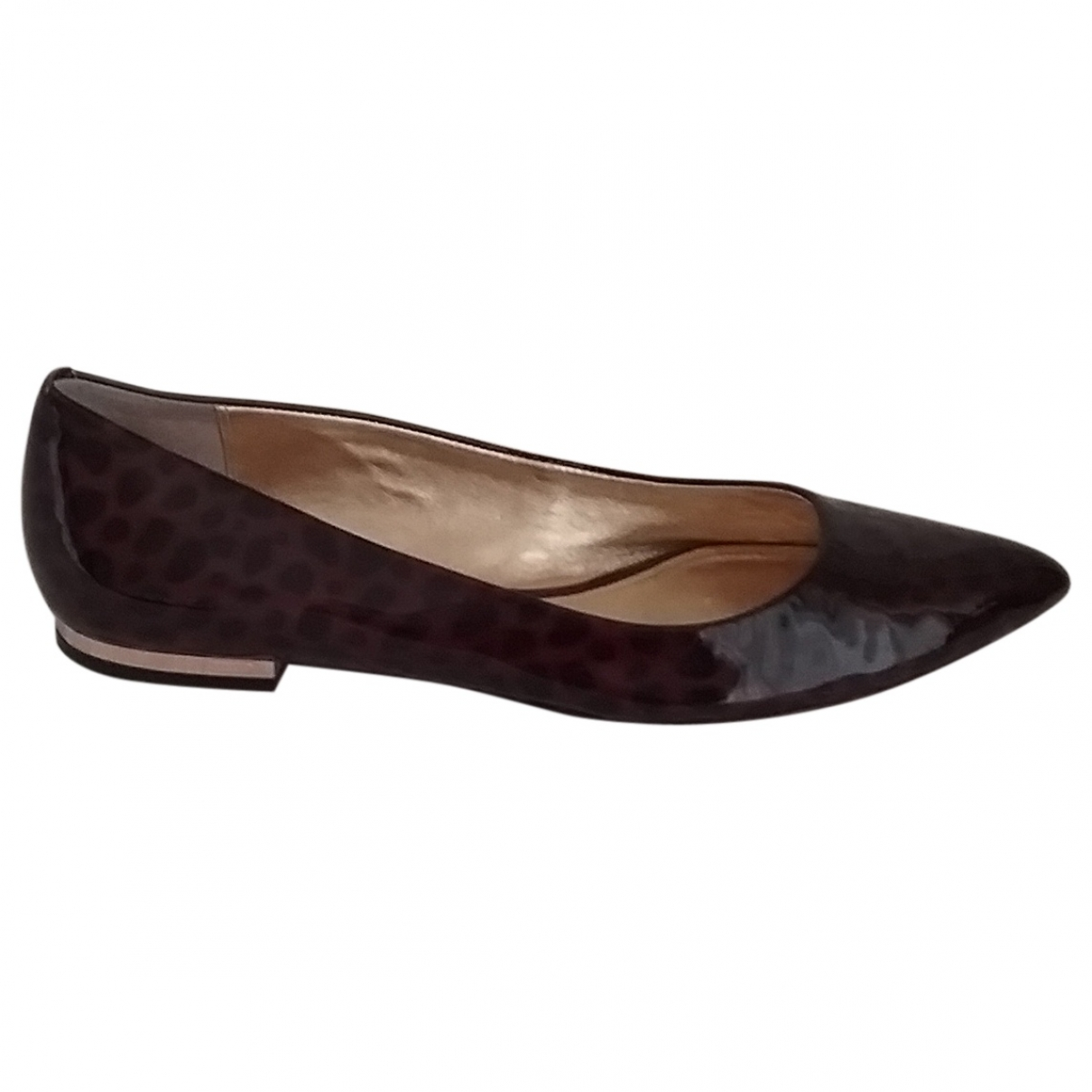 Coach \N Brown Patent leather Ballet flats for Women 8 US
