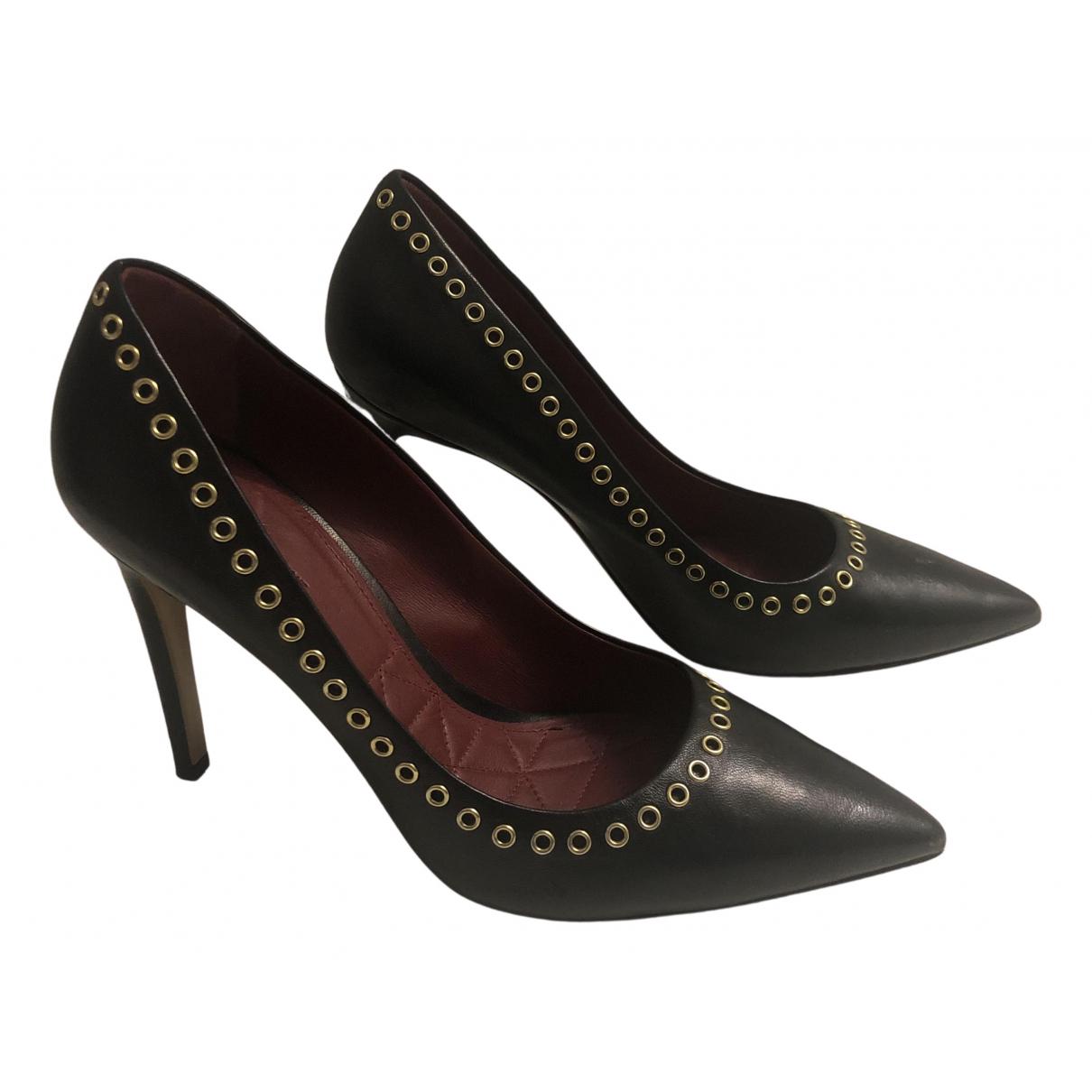 Isabel Marant - Escarpins   pour femme en cuir - noir