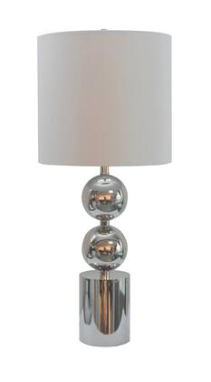 JTL23GH-PN 1-Light Table Lamp with Metal Materials and 100 Watts in Polished Nickel