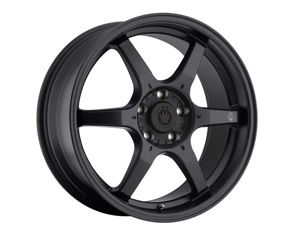 Konig Backbone Matte Black Wheel 17x7.5 5x114.3 35