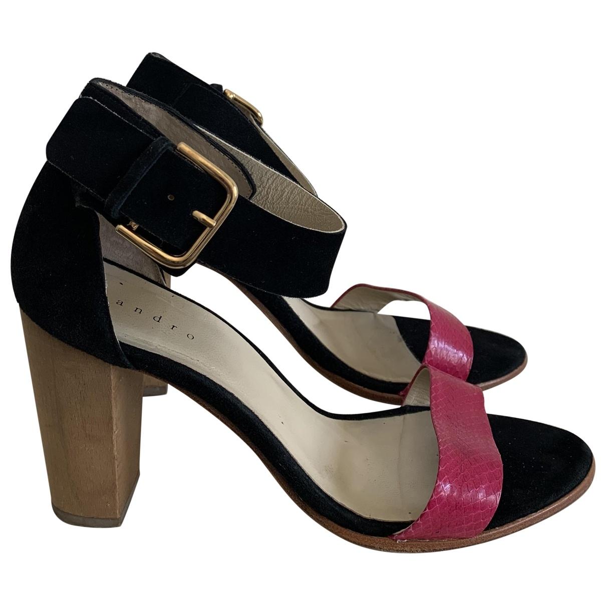Sandro \N Multicolour Leather Sandals for Women 38 EU